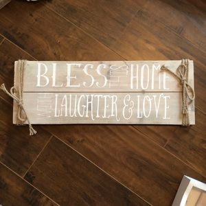 Other - Wooden sign